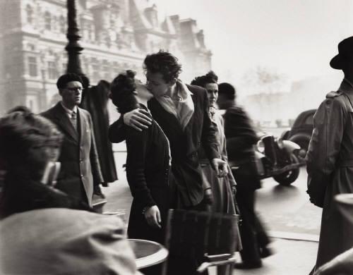 Un baiser ds la ville
